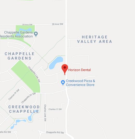 Horizontal Dental Map